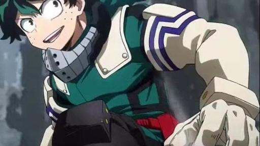 Appearance of Deku