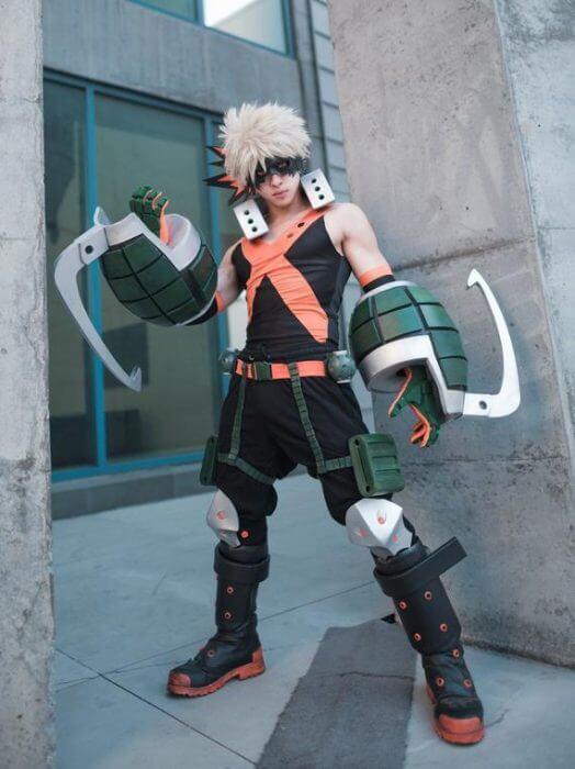 Bakugo My Hero Cosplay Academy