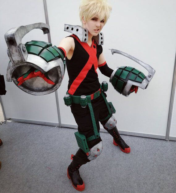 Buy Bakugo My Hero Academia Cosplay costume