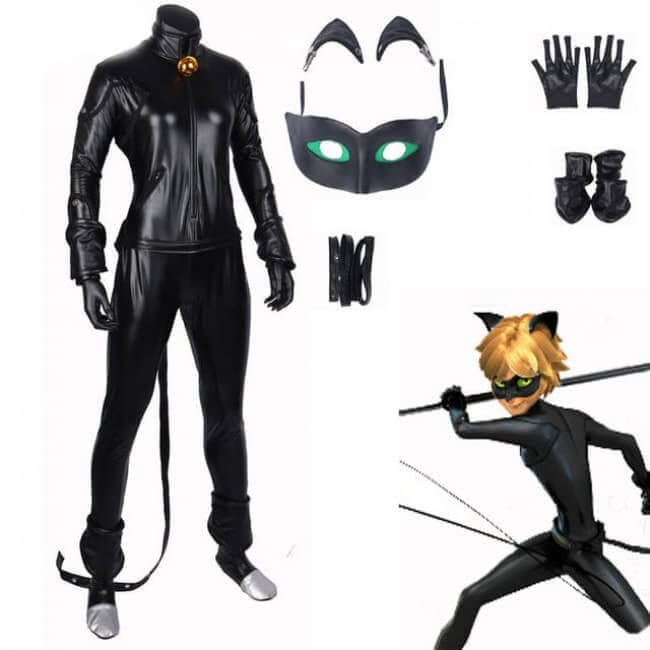 Chat Noir Cosplay Costume