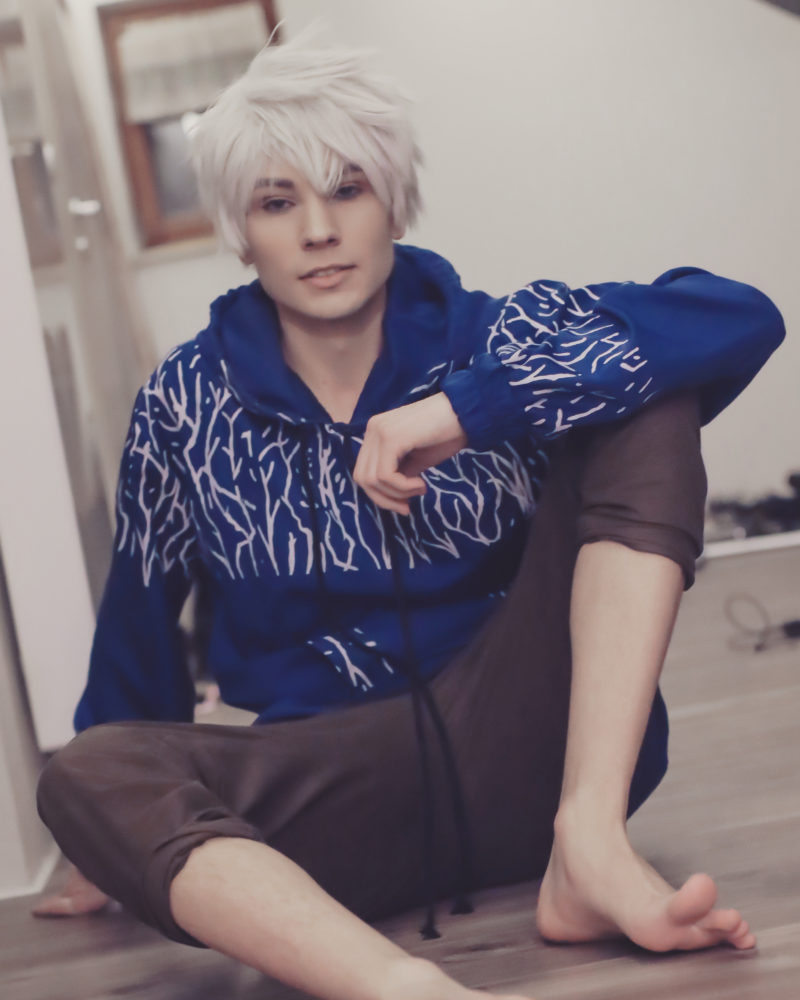 Jack Frost Cosplayer