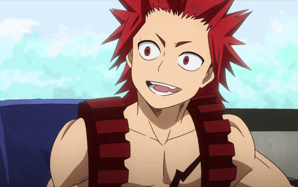 Look of Eijiro Kirishima