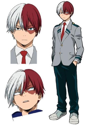 Personality of Todoroki