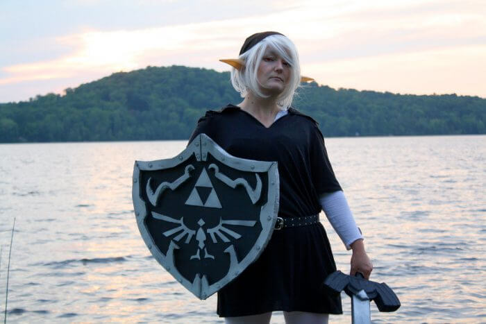 Zelda Dark Link Cosplay