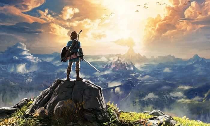 story of Zelda's breath of wilderness